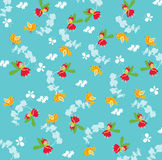Seamless fairy pattern Royalty Free Stock Image