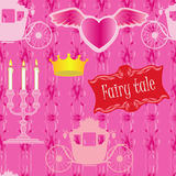 Seamless for fairy tale Royalty Free Stock Images