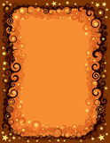 Seamless Fall Halloween Border Stock Photography