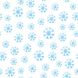 Seamless Falling Snowflakes Stock Photos