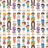 Seamless family Royalty Free Stock Photos