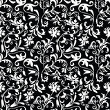 Seamless fancy floral background-pattern royalty free illustration