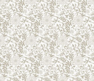 Seamless fancy floral background Stock Photos