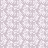 Seamless fancy floral pattern Stock Photography