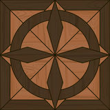 Seamless fancy parquet tile Royalty Free Stock Photos