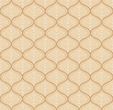 Seamless fancy vector wallpaper Royalty Free Stock Image