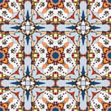 Seamless fantastic pattern Stock Images