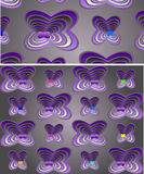 Seamless fantasy pattern Stock Photography