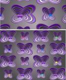 Seamless fantasy pattern Stock Photography