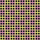 Seamless fashion cube square vector background Stock Photos