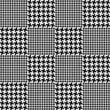 Seamless fashion fabric pattern Royalty Free Stock Photography