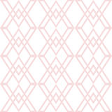 Seamless fashion geometric patterns Royalty Free Stock Photo