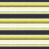 Seamless fashion horizontal stripes textile fabric Stock Photos
