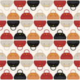 Seamless fashion pattern Stock Images