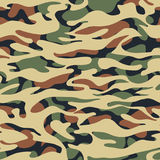 Seamless fashion textile camouflage pattern. Hand drawn ink artistic trendy background. Expressive ornament for sport, hunting clothing vector illustration