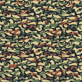 Seamless fashion textile camouflage pattern. Hand drawn ink artistic trendy background. Expressive ornament for sport, hunting clothing stock illustration