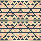 Seamless fashion vector pattern in folk style Royalty Free Stock Photos