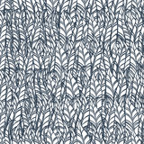 Seamless feather pattern. Vector illustration Royalty Free Stock Image