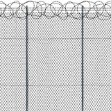 Seamless fence Stock Photo