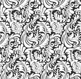 Seamless Fern wallpaper pattern background royalty free illustration