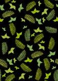 Seamless ferns wallpaper Stock Photography