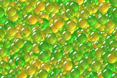 Seamless festival lime green balls plating pattern. Seamless abstract lime green balls theme for design purposes Royalty Free Stock Images