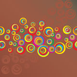 Seamless festive background Royalty Free Stock Images