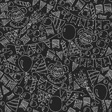 Seamless festive pattern. Vector illustration Stock Image