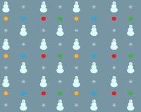 Seamless festive winter background Stock Photo