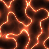 Seamless baclground of electric field Royalty Free Stock Image