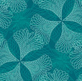 Seamless filigree. Pattern: Select all the art and drop it into your swatches palette to create an Adobe Illustrator pattern Royalty Free Stock Photos