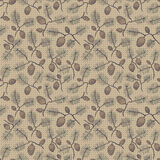 Seamless fir cone. Seamless texture pattern with fir cones. Used as a backdrop, seamless texture. beige background Stock Photo