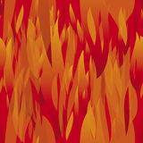 Seamless fire Stock Image