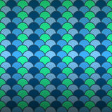Seamless fish scale pattern background Stock Images