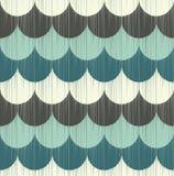 Seamless fish scale wallpaper pattern. Seamless retro fish scale textured wallpaper pattern Stock Photos