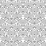Seamless fishscale texture. Vector art Stock Photos
