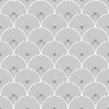 Seamless fishscale texture. Stock Photos