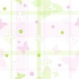 seamless fjärilsmodell Arkivbild