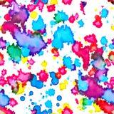 seamless fläckstruktur för färg Arkivbild