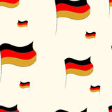 Seamless flags Ger Royalty Free Stock Image