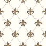 Seamless Fleur De Lis Pattern Royalty Free Stock Image