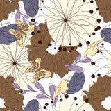 Seamless floral Stock Photos