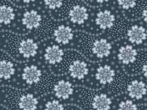 Seamless floral abstract design pattern vector illustration
