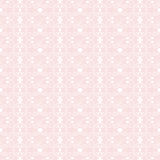 Seamless Floral And Hearts Pattern Royalty Free Stock Photo