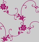Seamless floral background. Floral background(can be repeated and scaled in any size Stock Image