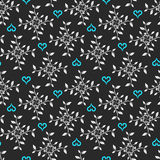 Seamless floral background. A seamless floral background illustration Stock Images