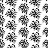 Seamless floral background. A seamless floral background illustration Royalty Free Stock Images