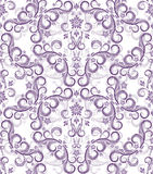 Seamless floral background. Illustration for your design Royalty Free Stock Photography