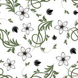 Seamless floral background Stock Photos