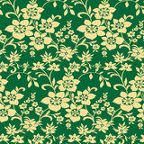 Seamless floral background. Vector illustration of seamless floral pattern Royalty Free Stock Photo